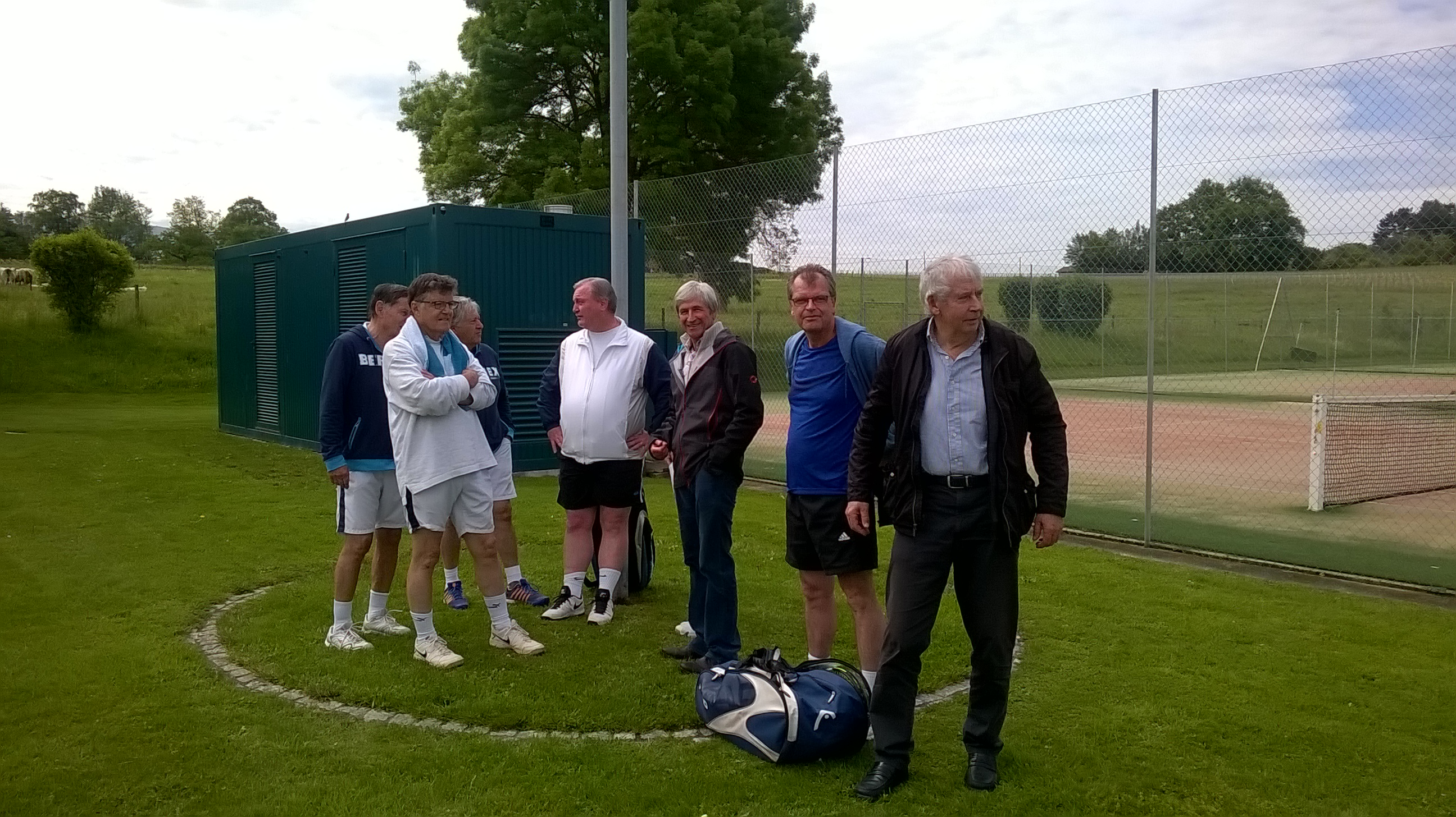 Rencontre interclub tennis